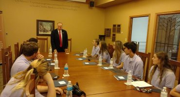 Congressman King Visits Commerce Center