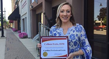 Frein Earns Professional Guide Certification
