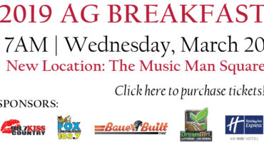 Ag Breakfast Tickets Available